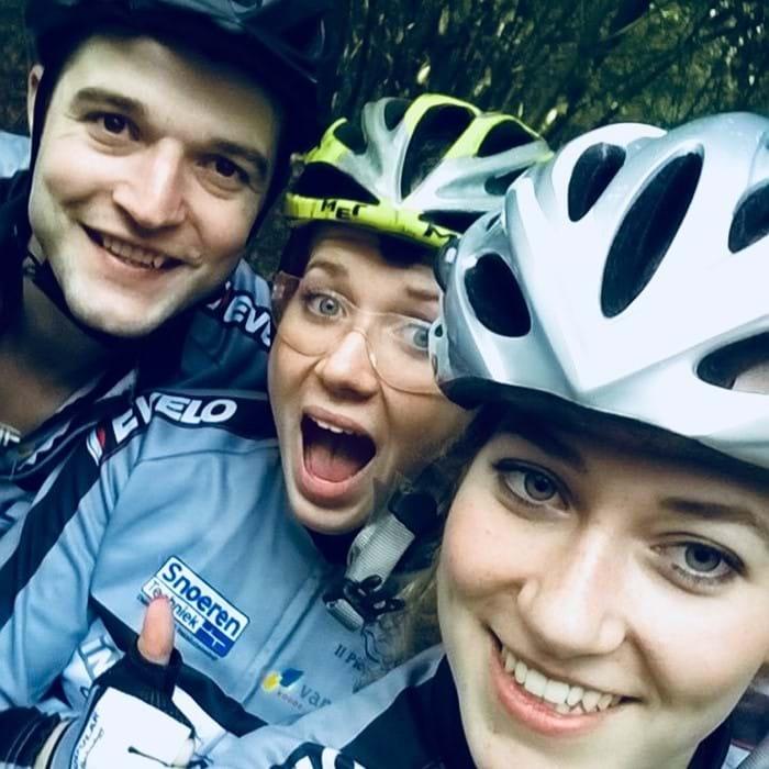 Mijn eerste keer op een mountainbike!