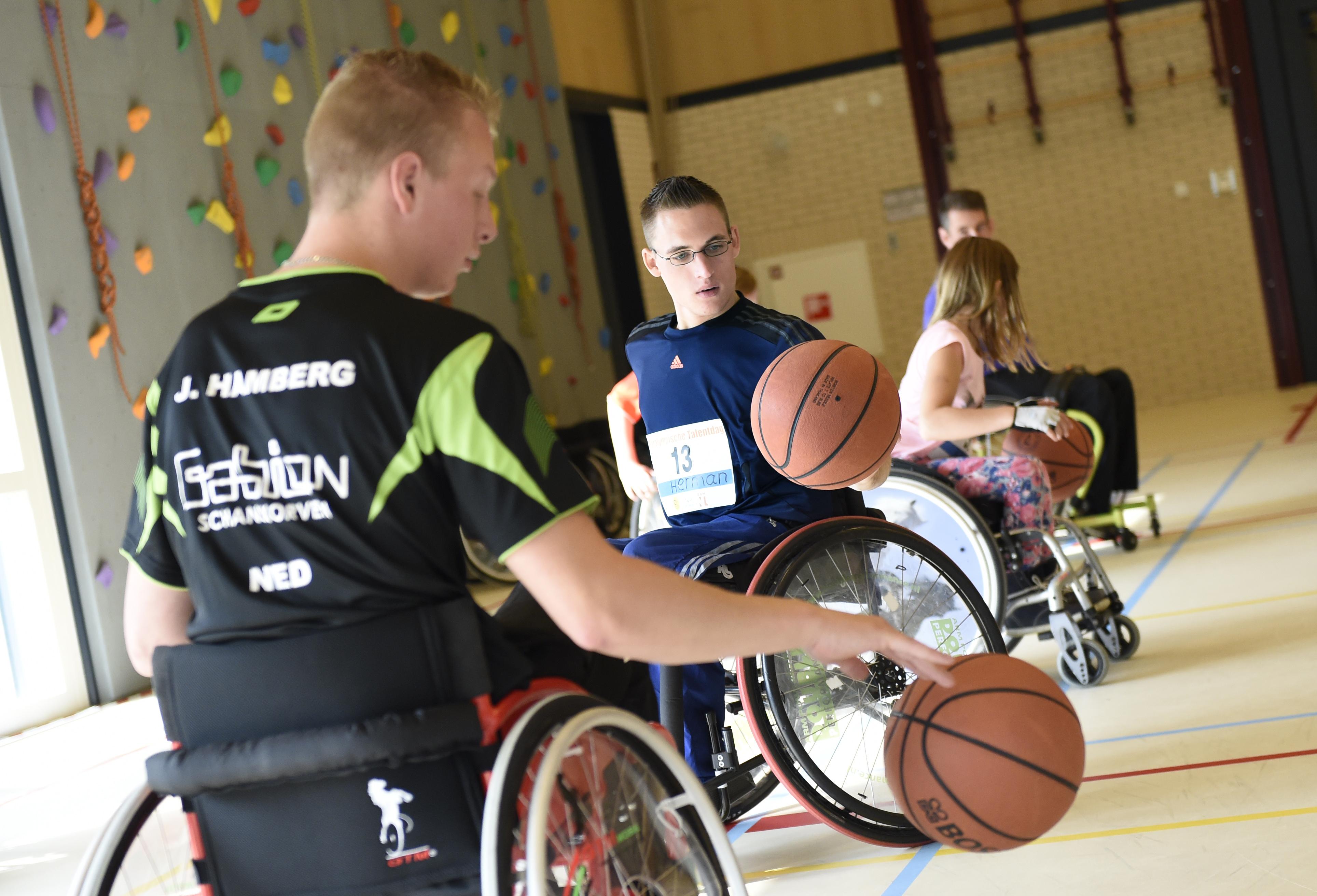 'Dag van de aangepaste sport' in regio Eemland tijdens NSW