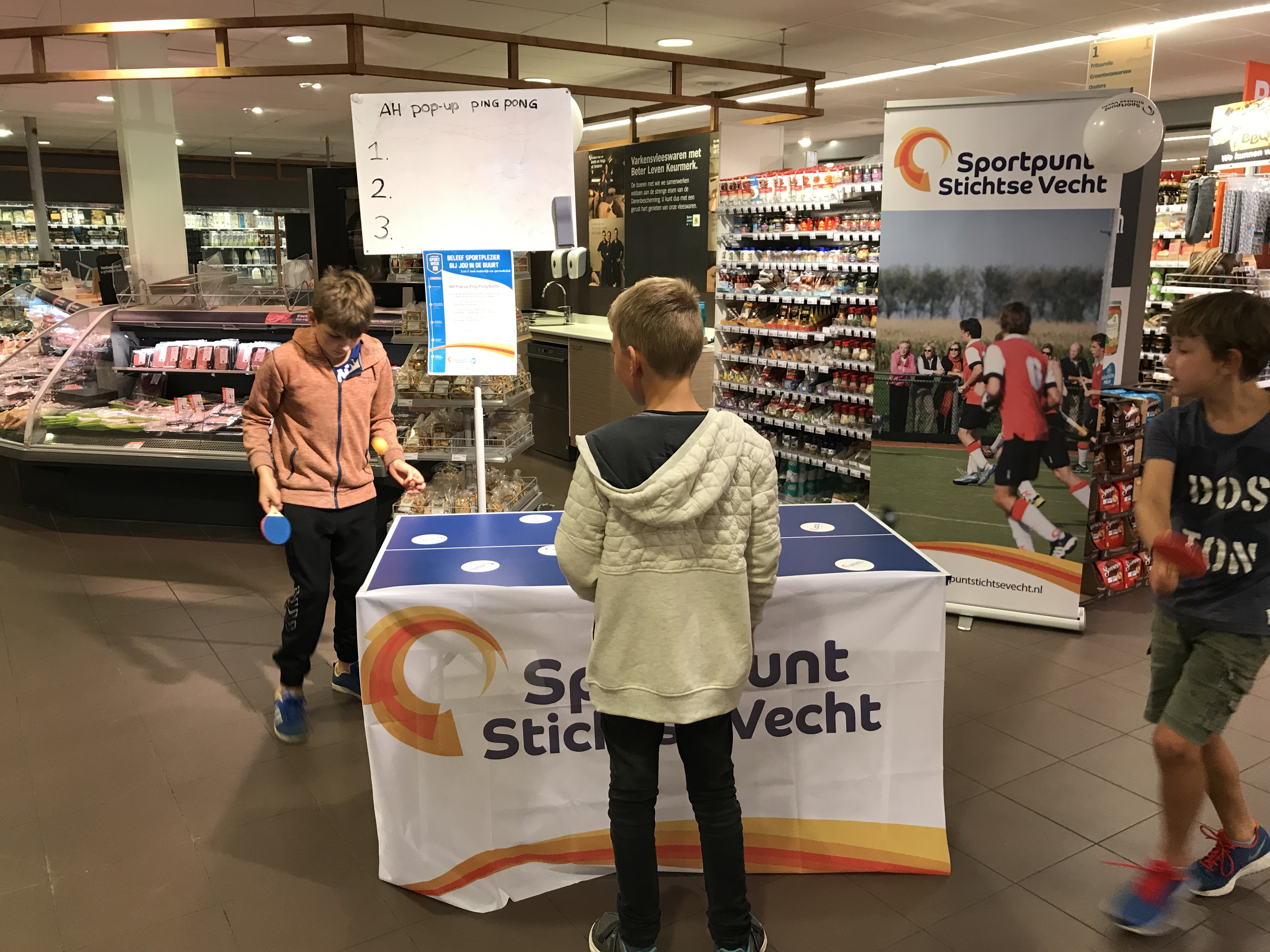 Sportpunt Stichtse Vecht gaat meteen vol gas!