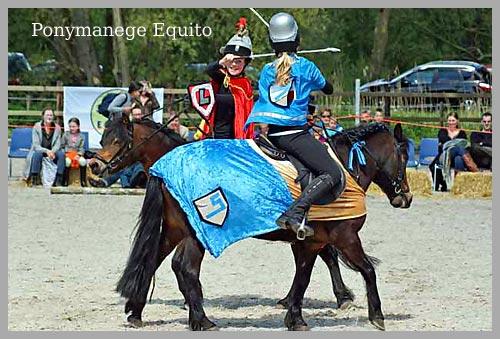 Bij Ponymanege Equito is sportiviteit en respect een punt!