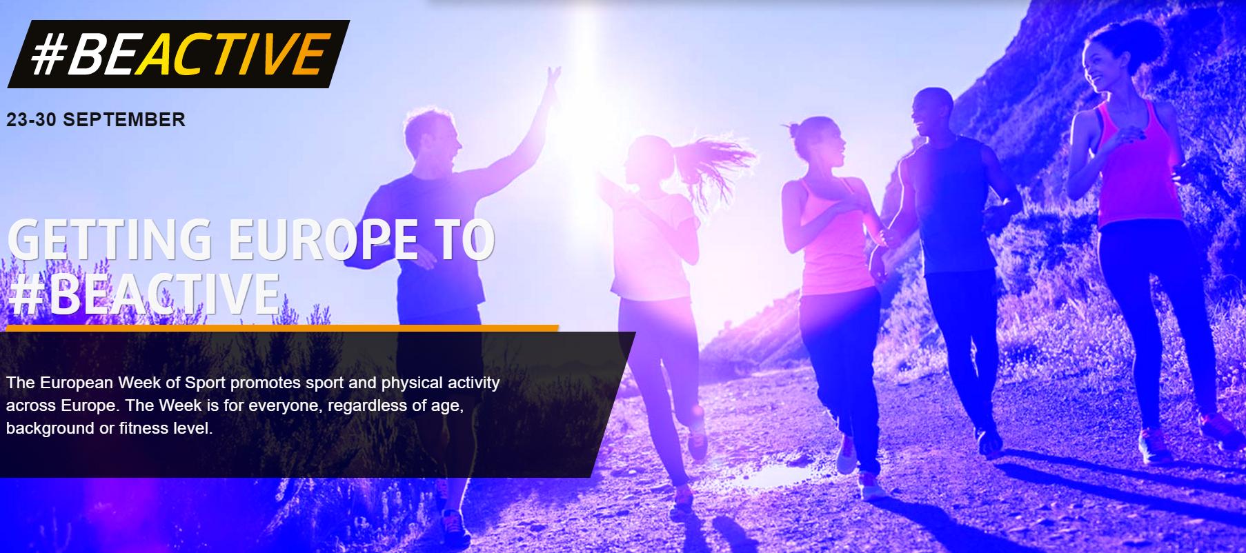 Laat je inspireren door de Europese week van de Sport! #BeActive