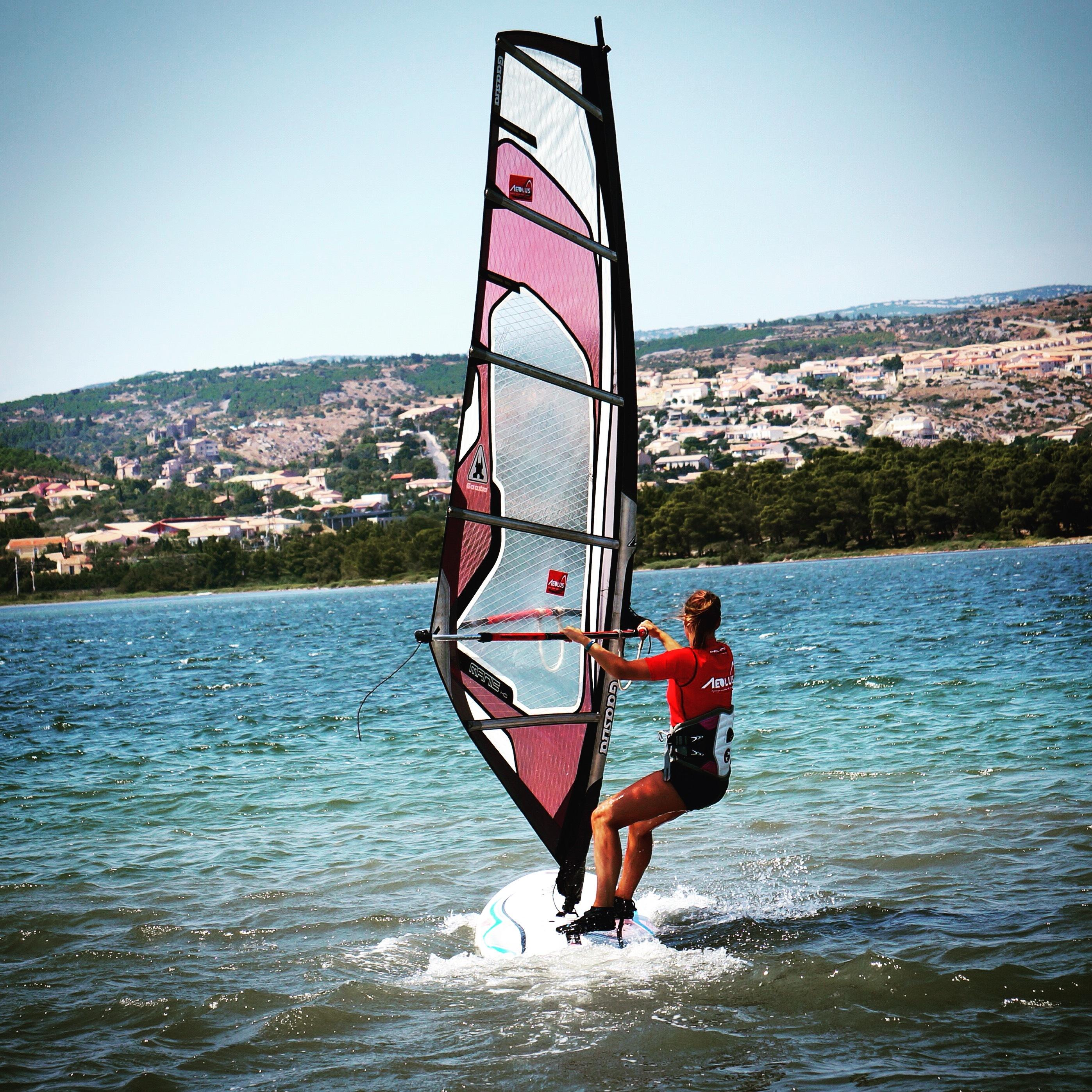 Windsurfen, een ultiem gevoel van vrijheid!