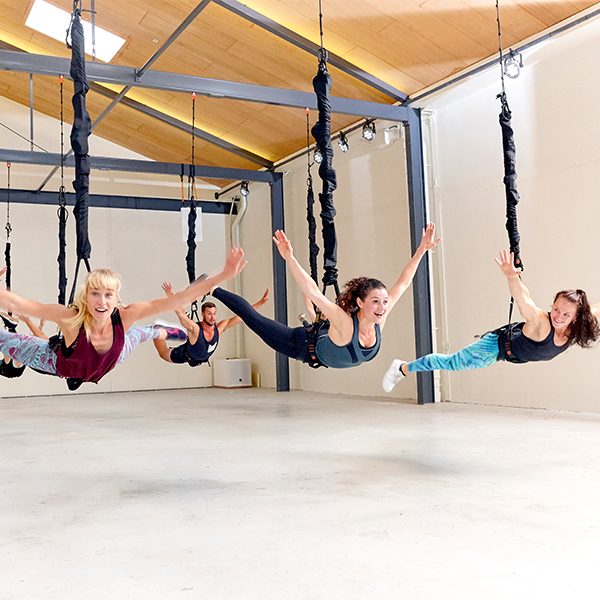 Bungee Super Fly: workout met hoge fun factor